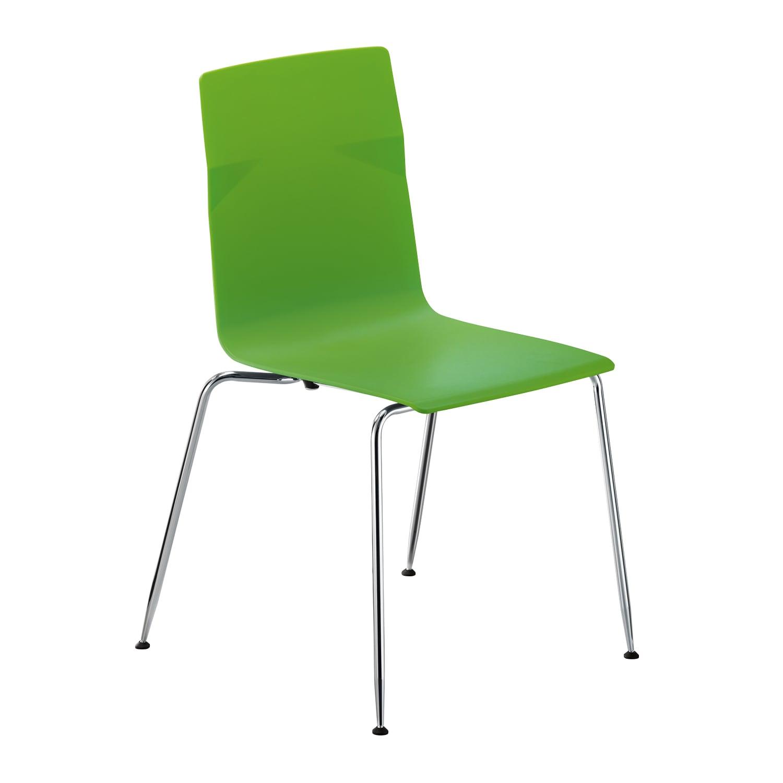 meet chair Grün, Vierfuß