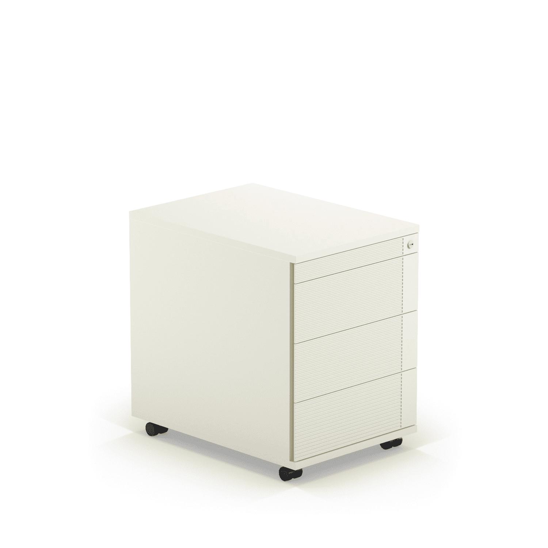 Rollcontainer Weiß