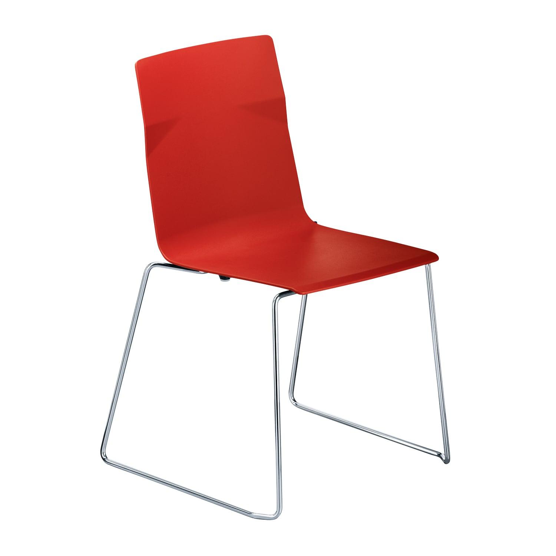 meet chair Rot, Kufen