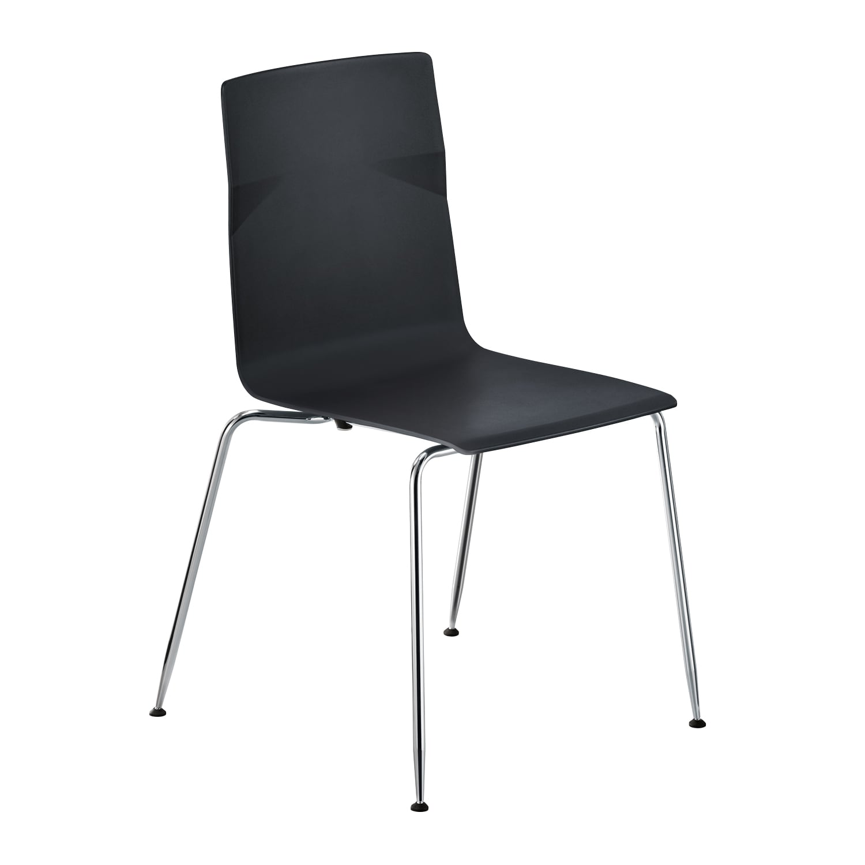 meet chair Schwarz, Vierfuß